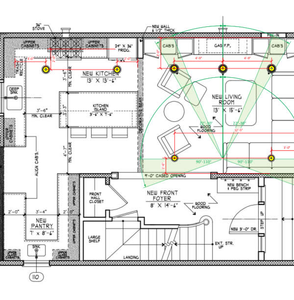 Home Theater Layout Design.