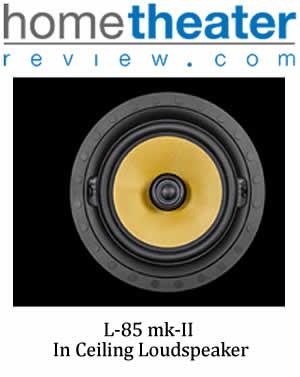 Review   L-85 mk II In-Ceiling Speaker By Darryl Wilkinson - HomeTheaterReview