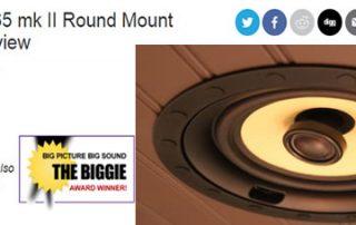 Noble Fidelity L-65 mk II Round Mount Loudspeaker Review
