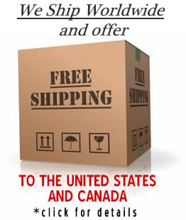 We Ship Worldwide and Ship Free to US and Canada